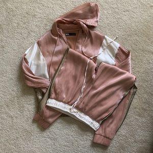 Zara track suit
